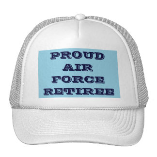 Hat Proud Air Force Retiree