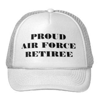 Hat Proud Air Force Retiree