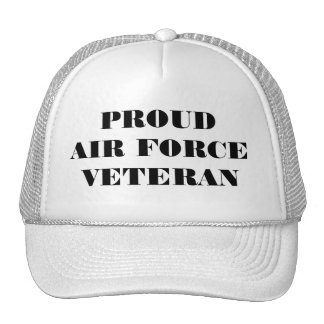 Hat Proud Air Force Veteran