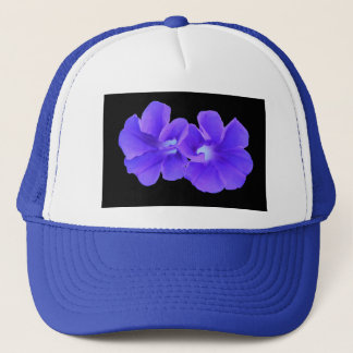 Hat, Purple Floating Morninglories 5226 Trucker Hat