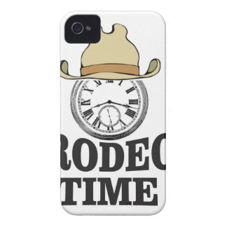 hat rodeo time iPhone 4 Case-Mate cases