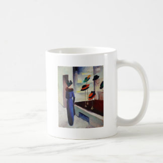 Hat Shop - August Macke Coffee Mug