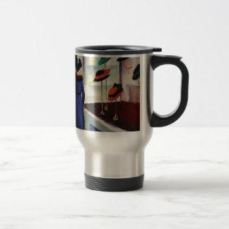 Hat Shop - August Macke Travel Mug