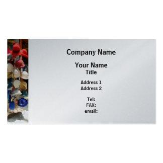 Hat Shop - Platinum Finish Business Cards