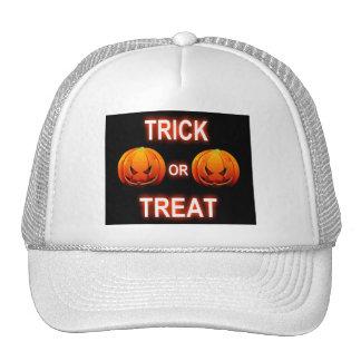 Hat Trick Or Treat Pumpkins