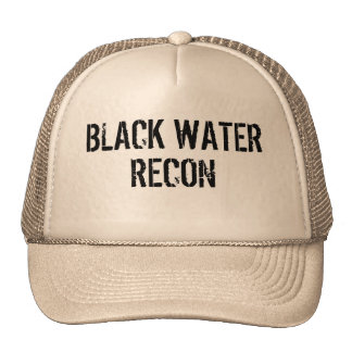Hat Truck Black Water Recon BWR