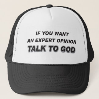 Hat With Christian Quote
