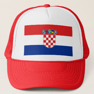 Hat with Flag of Croatia