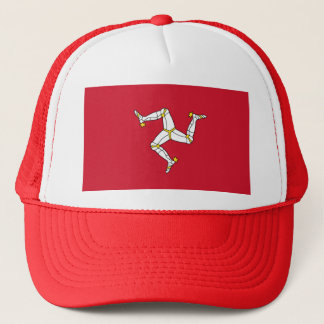 Hat with Flag of Isle of Man