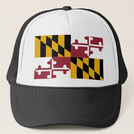 Hat with Flag of  Maryland State - USA