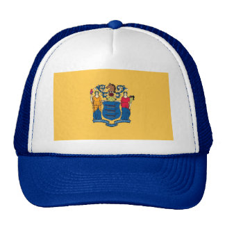 Hat with Flag of New Jersey State - USA