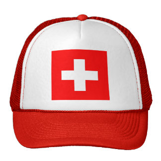 Hat with Flag of Switzerland