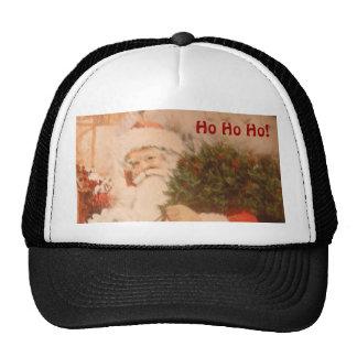 Hat With Santa Ho Ho Ho