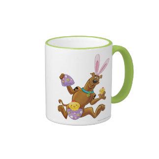 Hatched Easter Egg Ringer Coffee Mug