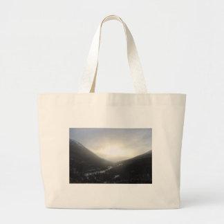 Hatcher Pass view Alaska Large Tote Bag