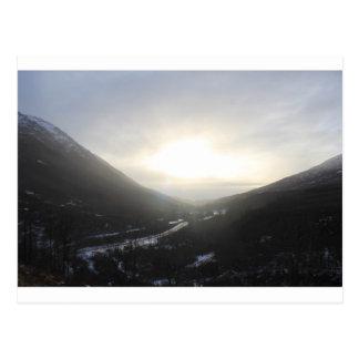 Hatcher Pass view Alaska Postcard