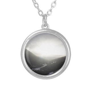 Hatcher Pass view Alaska Silver Plated Necklace