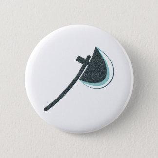 Hatchet axe axe 6 cm round badge