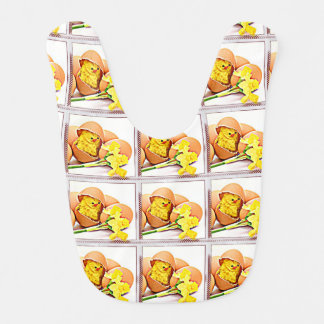 Hatching Baby Chick Bib
