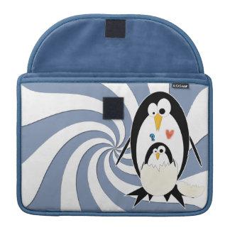 Hatching Penguin Macbook Pro 13in Rickshaw Sleeve MacBook Pro Sleeves