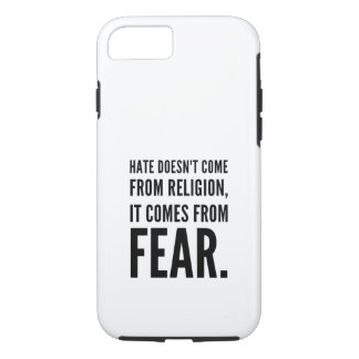 Hate doesn't come from religion iPhone 8/7 case