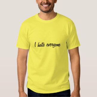 Hate Everyone Shirt