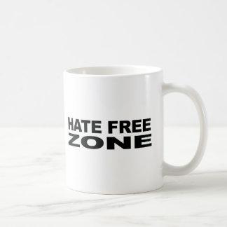 Hate Free Zone Bumper Sticker Mug
