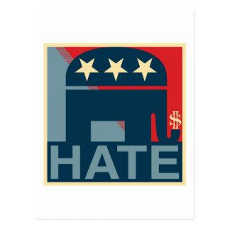 Hate-Gop Postcard