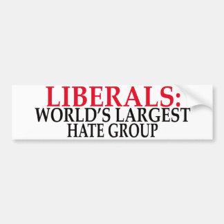 hate group bumper sticker