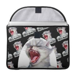 "HATE MONDAY 2 CAT Rickshaw Macbook PRO Sleeve 15 """