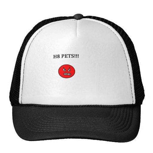 hate pets trucker hat
