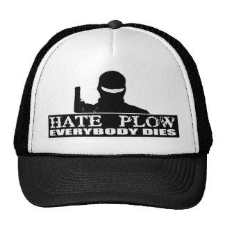 Hate Plow Trucker Hat