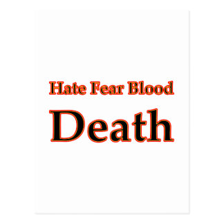 Hate Red The MUSEUM Zazzle Gifts Post Cards