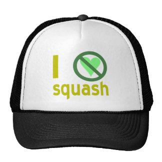 Hate Squash Trucker Hats