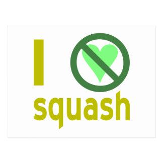 Hate Squash Post Card