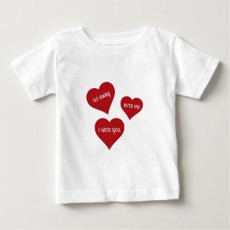 Hate Valentines Baby T-Shirt