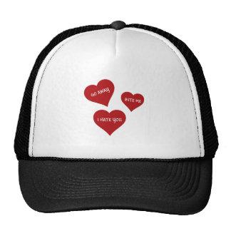 Hate Valentines Cap