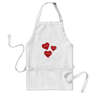 Hate Valentines Standard Apron