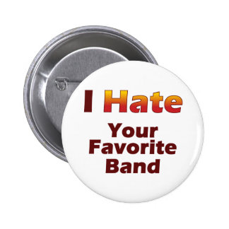 Hate Your Fave 6 Cm Round Badge