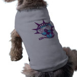 'Hater Shades' doggy ringer tee Doggie T-shirt