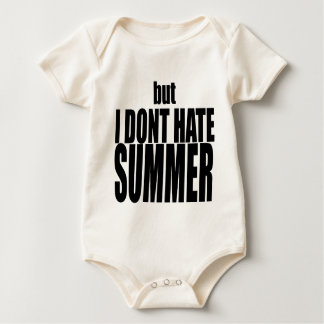 hater summer end vacation flirt romance couple bla baby bodysuit