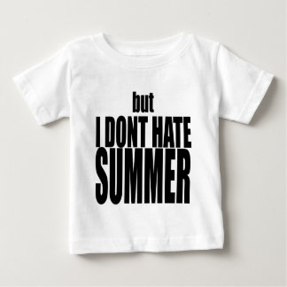hater summer end vacation flirt romance couple bla baby T-Shirt