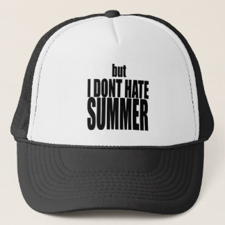 hater summer end vacation flirt romance couple bla trucker hat