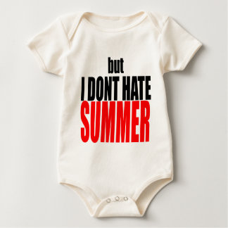hater summer end vacation flirt romance couple red baby bodysuit