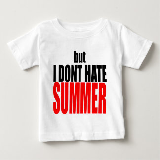 hater summer end vacation flirt romance couple red baby T-Shirt