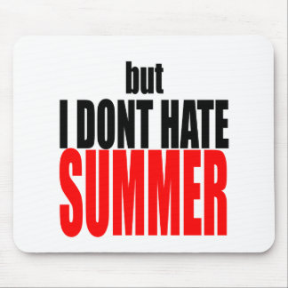 hater summer end vacation flirt romance couple red mouse pad