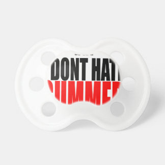 hater summer end vacation flirt romance couple red pacifier