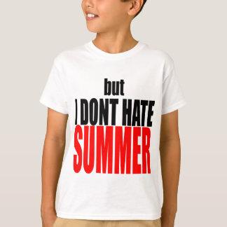 hater summer end vacation flirt romance couple red T-Shirt