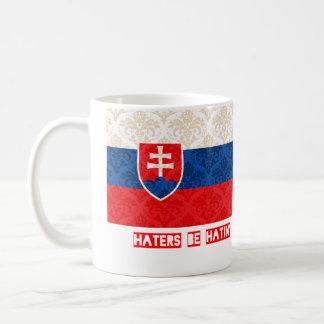 Haters be hatin Slovakia Coffee Mug