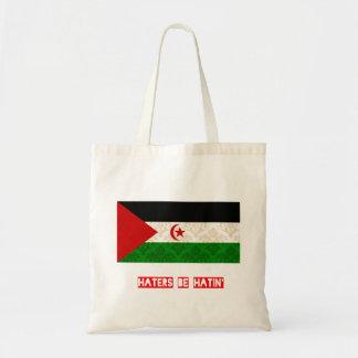 Haters be hatin Western Sahara Bags